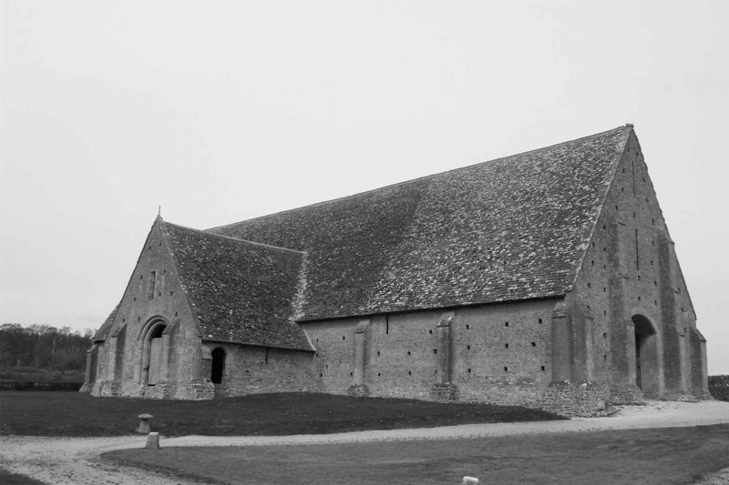 A Tithe Barn in England